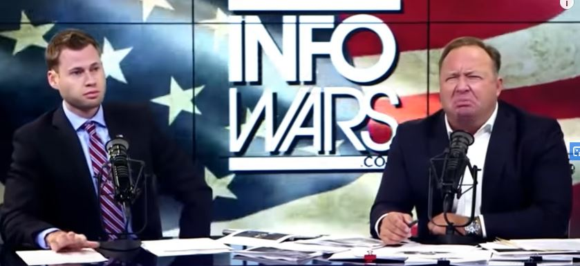 Owen Shroyer and Alex Jones Together